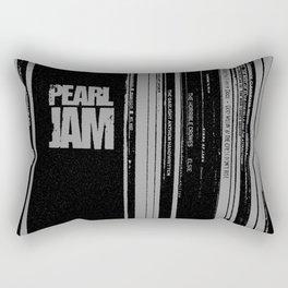 Records 3 Rectangular Pillow