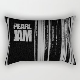 Records 3 Rectangular Pillow