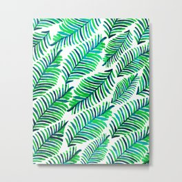 Palm Solace #society6 #buyart #decor Metal Print