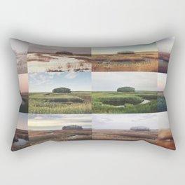 the clump through the seasons Rectangular Pillow