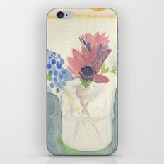 Flowers in Jar, 2 iPhone & iPod Skin