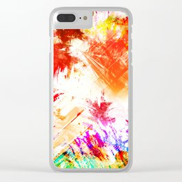 TROPICALIA IV Clear iPhone Case