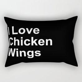 Chicken Wings Rectangular Pillow