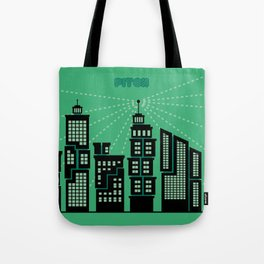 Pitch : Une vision digitale Tote Bag