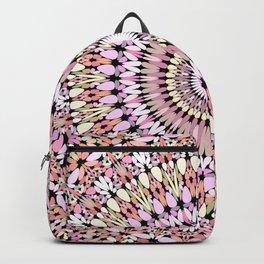 Light Pastel Gravel Mandala Backpack