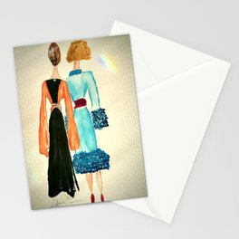 Lucinda and Florinda Stationery Cards