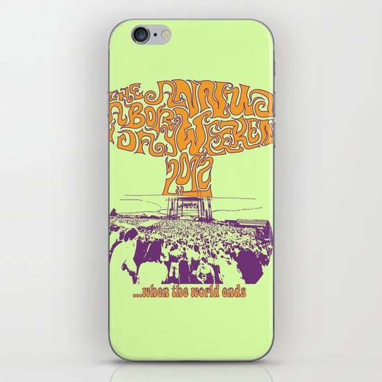 When the World Ends iPhone & iPod Skin