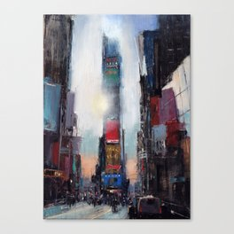The Times They Are A Changing Canvas Print