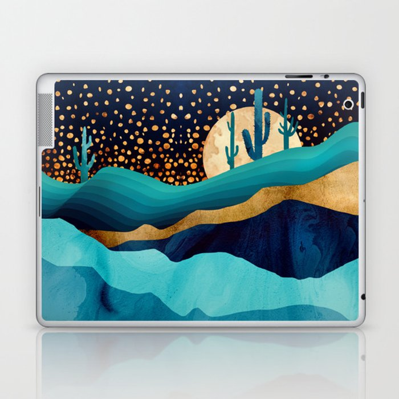 Indigo Desert Night Laptop & iPad Skin