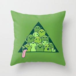 Itty-bitty Goblin Hoard Throw Pillow