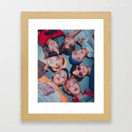 BTS - Bangtan Boys Framed Art Print