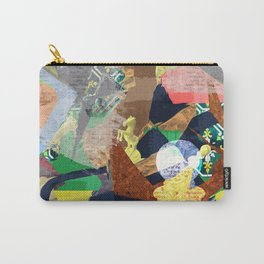 Abstract composition with chess pieces Carry-All Pouch