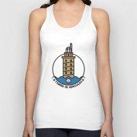 hercules Tank Tops featuring Torre de Hercules by DamianVF