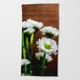 Floral Untitled .18 Beach Towel