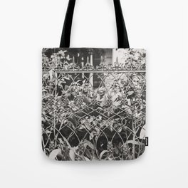New Orleans Garden District Fence Tote Bag