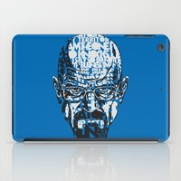 quotes iPad Cases featuring Heisenberg Quotes by RicoMambo