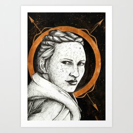 Ladies of Dragon Age: Scout Harding Art Print