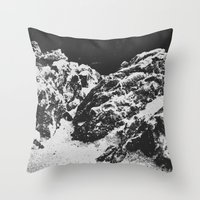 rocky Throw Pillows featuring Rocky by Deep | Love | Photography
