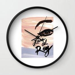 lana album del rey 2021 katrin6 Wall Clock