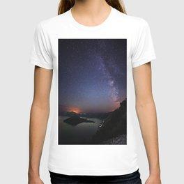 Crater Lake Galaxy T-shirt