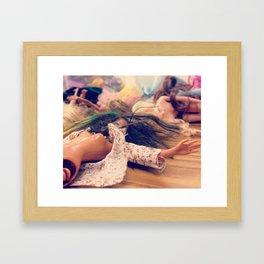 Dollplay Framed Art Print