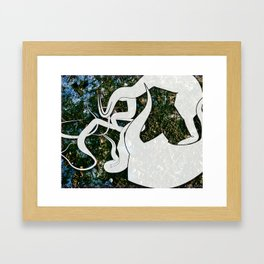 Dirt Framed Art Print
