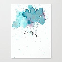 No Spring Chicken Canvas Print