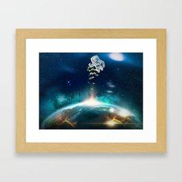 Send love! Framed Art Print
