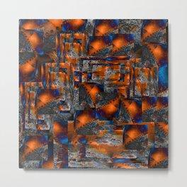 red oxides Metal Print