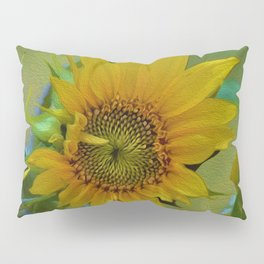 Sunflower Solar System Pillow Sham