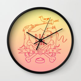 Dog Club Wall Clock