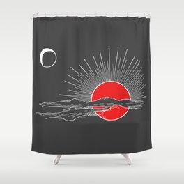 Ember Sun Shower Curtain