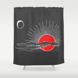 Ember Sun Shower Curtain