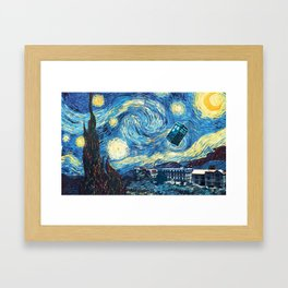 Vincent and The Doctor - Bosphorus Framed Art Print
