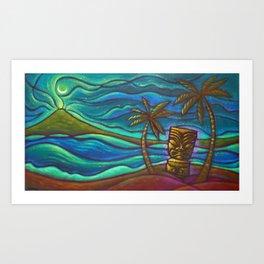 Moon of Manakoora Art Print