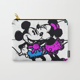 Mickey and Minnie Carry-All Pouch