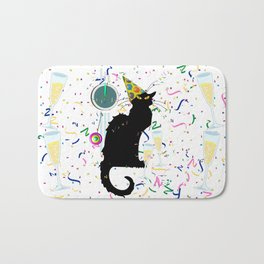 Chat Noir  Party Countdown Bath Mat