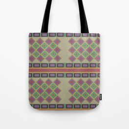 Tribal Design Tote Bag