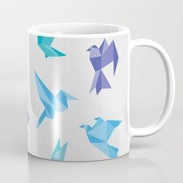 ORIGAMI BIRDS Coffee Mug