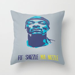 Snoop Dogg Poster Art Throw Pillow