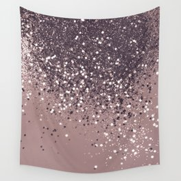 Sparkling Mauve Lady Glitter #3 #shiny #decor #art #society6 Wall Tapestry
