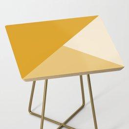 Mustard Tones Side Table