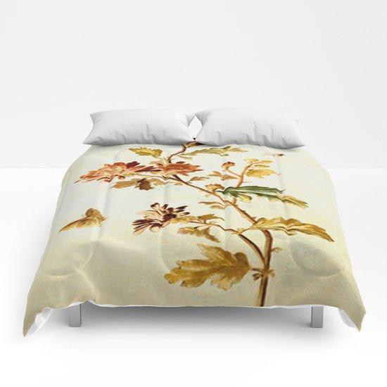 Chrysantheme Comforters