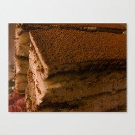 Tiramisu Canvas Print