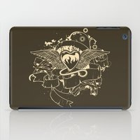 evil iPad Cases featuring Evil Heart by MaNia Creations