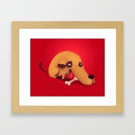 Poorly designed creatures # 1 Framed Art Print
