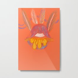 Power of the flower Metal Print