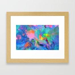 Fusion - Fluid Abstract Art Framed Art Print