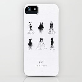Little Black Dress Collection iPhone Case