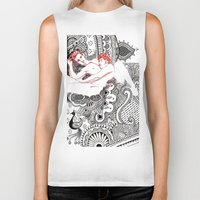 henna Biker Tanks featuring Henna Lovers by N.I.S.